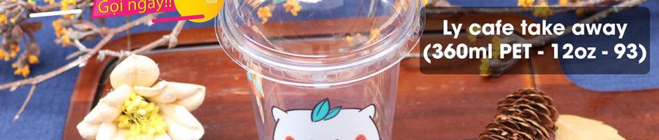Ly nhựa cafe take away – Để kinh doanh take away thành công